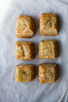 fontina cheese + chive biscuits with jam