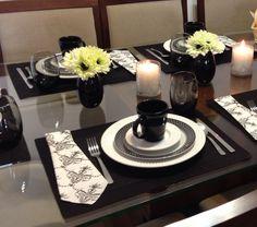 Mesa posta decor table dia dos pais father's day tablescape
