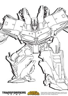 transformers prime beast hunters coloring pages - Google Search ...