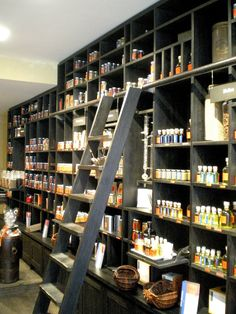 food stuffs - like the shelving and ladder
