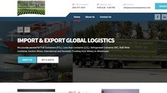 Updated our Wine Logistics website and launched it this week Supply Chain, Wine, Website