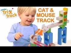 Wonderworld - Trix Track Marble Run Cat & Mouse - Marble Runs - Building Toys - Shop