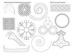 Viking Carvings, Symbols & Thematic Design