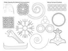 Viking Carvings, Symbols & Thematic Design