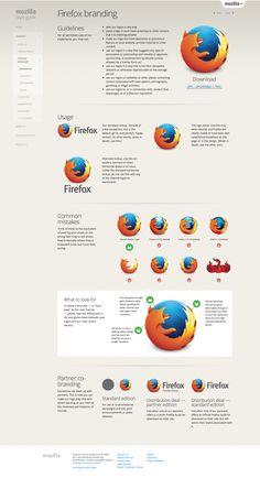 Firefox branding —Mozilla Style Guide