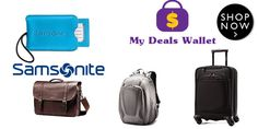 Stack your savings and save big!!  Get 20% Off On Select Collections at ‪#‎Samsonite‬. Hurry Up!!!. For More Visit http://www.mydealswallet.com/store/samsonite-coupon-codes.html