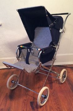 Silver Cross Vintage Baby Carriage Navy Wow! #SilverCross