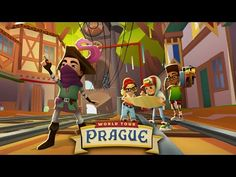 ★ The Subway Surfers World Tour visits marvelous Prague ★ Surf through a medieval Subway surrounded by grand castles and beautiful forests ★ Add Jaro, the fe. Subway Surfers, Beautiful Forest, Prague, Medieval, Surfing, Castle, Family Guy, Tours, Youtube