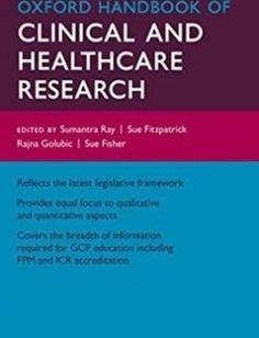 Oxford Handbook of Clinical and Healthcare Research free download by Sumantra Ray Sue Fitzpatrick Rajna Golubic Susan Fisher ISBN: 9780199608478 with BooksBob. Fast and free eBooks download.  The post Oxford Handbook of Clinical and Healthcare Research Free Download appeared first on Booksbob.com.