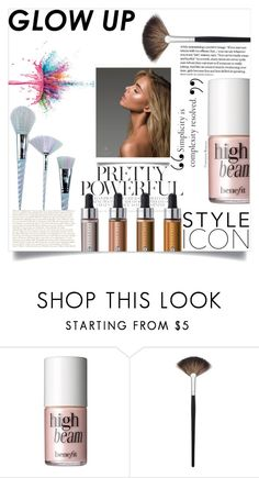 """""""Spring style: Glow Up"""" by haloangel221 ❤ liked on Polyvore featuring beauty, Anastasia Beverly Hills, Benefit, Morphe, Givenchy and Unicorn Lashes"""