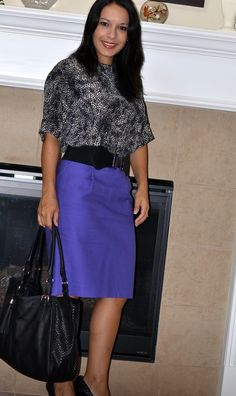 Jag Style Blog: Leopard and purple
