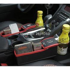 Car Styling Organizer Seat Storage Box Accessories for Mercedes GLA Lexus RX NX Volkswagen VW tiguan. Car Storage Box, Seat Storage, Camping Storage, Passat B6, Vw Tiguan, Interior Accessories, Car Accessories, Mercedes W124, Leather Car Seats