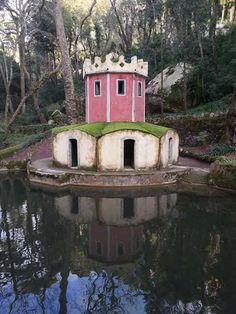 Sintra, no Parque da Pena (vale dos lagos). Foto de João Paulo Veloso.