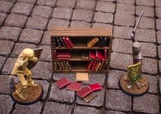 Decided I'd create this thread to house all my Frostgrave related crafting.  (There is a lot of Frostgrave crafting stuff in my other general crafting thread, but I want this one to be just