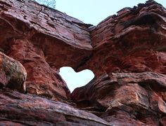 Heart portal in Sedona, Arizona