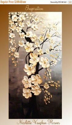 Sale Original 48 abstract contemporary impasto fine art von artmod