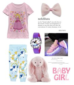 """""""Childhood~"""" by amy0527 ❤ liked on Polyvore featuring Mini Rodini, Jellycat and Disney"""
