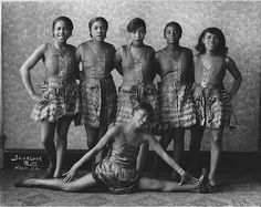 Female dancers at the Cotton Club