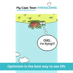 Optimism is the ONLY way to get through the week! #MondayMotivation