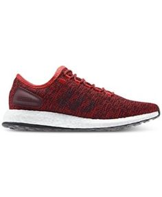 ff4bd98f232cfc adidas Men s Pure Boost Running Sneakers from Finish Line - Red 10.5 Adidas  Pure Boost