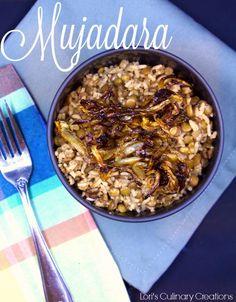Mujadara, which is l