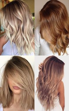8 stunning light caramel hair color on blonde ombre in 2017