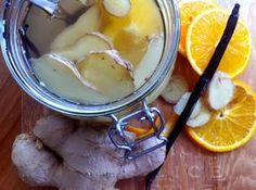 Domácí zázvorový likér proti chřipce | Home-Made.CéZet