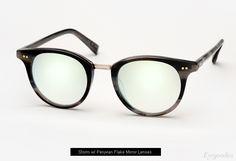 Garrett Leight x Mark Mcnairy Pinehurst sunglasses