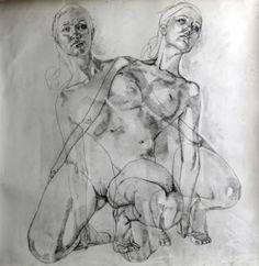 "Saatchi Art Artist Simon Birch; Drawing, ""Untitled"" #art"