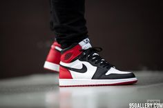 Nike Air Jordan 1 Retro High Og Black Toe http://www.95gallery.com/product-category/women/