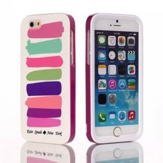 http://www.jewelryloveu.com/iphone-6-6-plus-case/kate-spade-iphone-6-case-colorful-strip.html Kate Spade iphone 6 case Colorful Strip