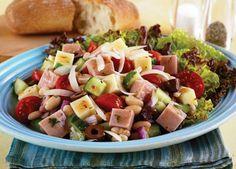 Mediterranean Jones Ham and Wisconsin Cheese Salad