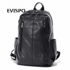 59.99$  Watch here - http://ai1tg.worlditems.win/all/product.php?id=32799341772 - 2017 New Arrival Oil Wax PU Leather Backpack For Men Western College Style Bags Men's Casual Backpack & Travel Bags For women