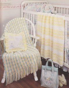 Baby Afghan Crochet Patterns, Five Sweet Designs
