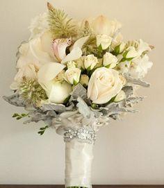 White Cream Ivory Wedding Flowers Flower Arrangements Bouquet