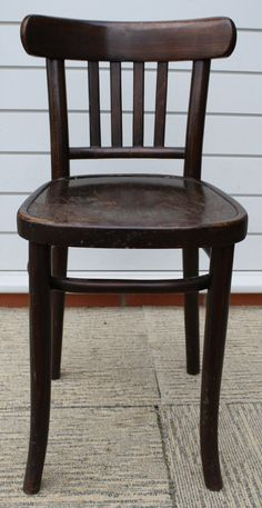 VINTAGE 1940s/50s BENTWOOD CHAIR