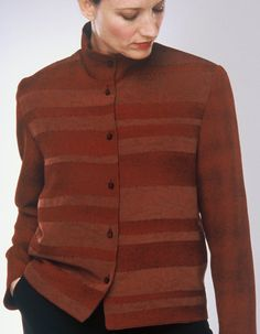 Rugby — Pieced jacket from vintage kimono silk, hand stitched with glass beads | Ann Williamson
