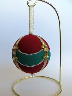 Christmas Ornament Tutorial Pattern Instructions DIY