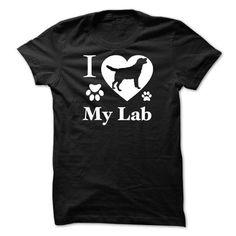 Custom Names I Love My Lab  Mug