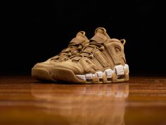 """NIKE AIR MORE UPTEMPO """"FLAX"""""""