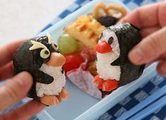 Penguins Bento