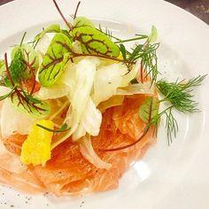Get inspired by Salmon, crispy fennel salad,  orange vinaigrette, micros/Saumon, salade de fenouil croquant, vinaigrette à l'orange, herbettes | Céline Moers, CEO | Traiteur La Cerisaie | 🌐Louvain-la-Neuve, Belgique 🇧🇪 | 📷 Designer - Ki-Jai Hackier | Food Artist Warmly recommended by @hipsterfoodofficial | Tag Food You Make with #hipsterfoodofficial | + 📸 on/sur > https://m.facebook.com/groups/HipsterfoodOfficial/ 🍽instagram : instagram.com/hipsterfoodofficial | #alatabledeschefs…