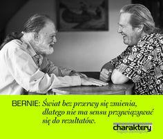 Ważne słowa Bernie Glassmana