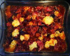 Was koche ich heute?                              Mediterranen Gemüseauflauf!