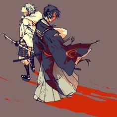 描くと来るときいて( ;∀;) Anime Love, Anime Guys, Green Palette, Design Palette, Great Words, Touken Ranbu, Character Design, Sketches, Colours
