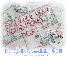 I truly find it hard to believe that December is here already and my Year of Gentle Domesticity is drawing to a close.         2015 held mu...