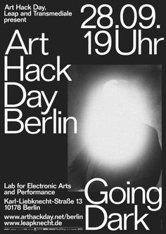 Art Hack Day – Going Dark