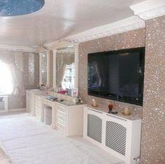 Ściany rozświetlone brokatem http://domomator.pl/sciany-rozswietlone-brokatem/