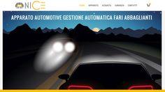 Creazione del sito e-commerce NICE (Night Intelligent Car Equipment)