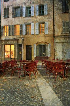 fall in cotignac | france